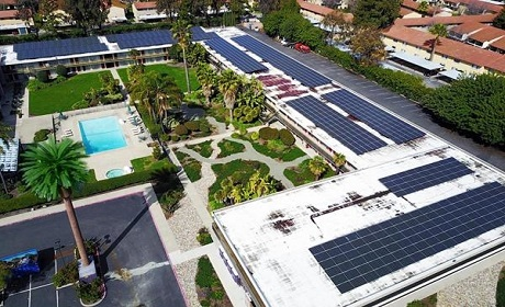 Ramada Silicon Valley goes sustainable with new solar panel installation