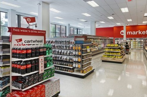 Target,IoT lights,LED ceiling lights,Target gives the go-ahead on IoT lights at half its stores